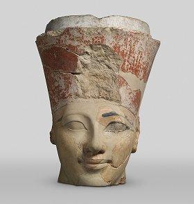 ハトシェプスト女王像の頭部?Rogers Fund, 1931 (31.3.153)