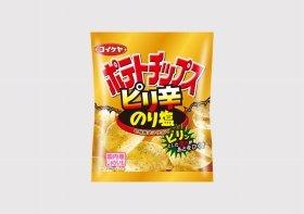「コイケヤポテトチップス ピリ辛のり塩」
