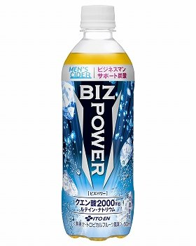 「MEN'S CIDER BIZ POWER」500ミリリットルペットボトル