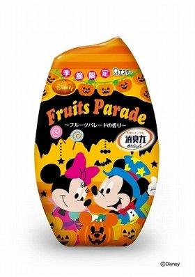 <p>(C)Disney<br />写真は「ミッキーマウス&ミニーマウス」タイプの玄関・リビング用消臭力</p>