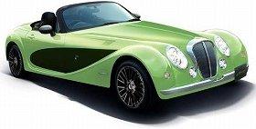 光岡自動車の2シートオープンカー「ヒミコ」 伊勢丹とコラボした特別仕様車、20台限定