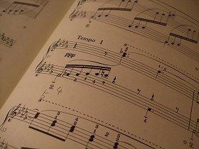 ベルガマスク組曲の3曲目「月の光」の楽譜
