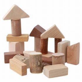 無印良品発、日本の木のおもちゃ 「9種のこっぱのつみき」