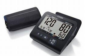 スタイリッシュブラックシリーズに新モデルの電子血圧計登場
