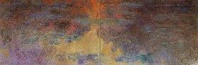 クロード・モネ「睡蓮の池、夕暮れ」1916/22年 (C)2014 Kunsthaus Zurich. All rights reserved.