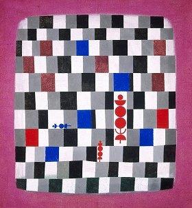 パウル・クレー 「スーパーチェス」1937年 (C)2014 Kunsthaus Zurich. All rights reserved.