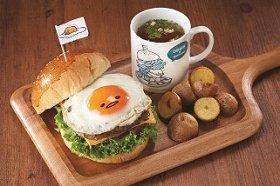 サンリオの卵キャラをイメージした「ぐでたまカフェ」、ルミネ横浜に期間限定オープン