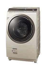 「プラズマクラスター槽クリーン」で、洗濯機の内部を清潔に保ち、衣類を黒カビから守る!(写真は、「プラズマクラスター洗濯乾燥機 ES‐Z200」)