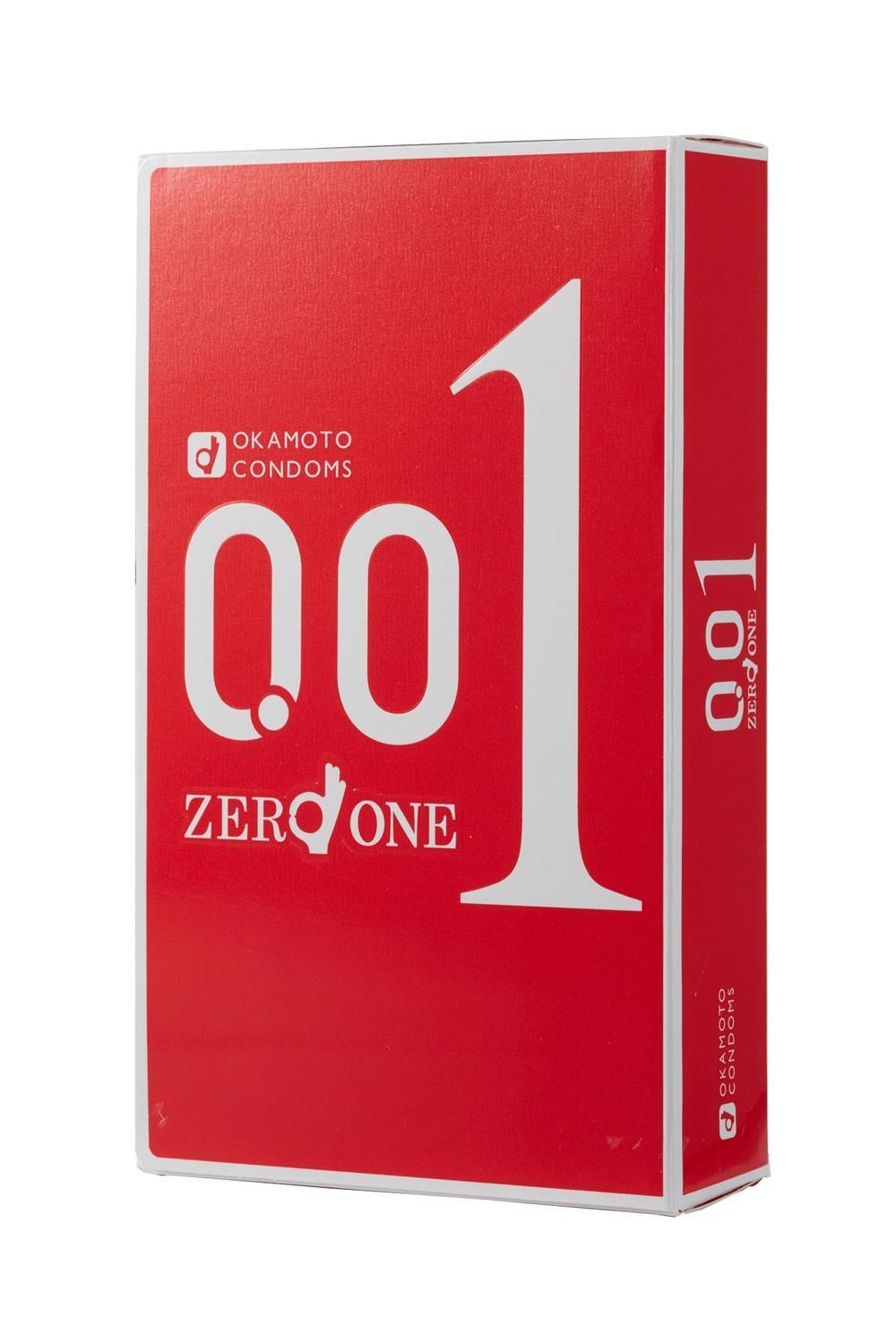 オカモト史上最薄コンドーム「オカモトゼロワン」 先端から根元まですべて0.01ミリ台