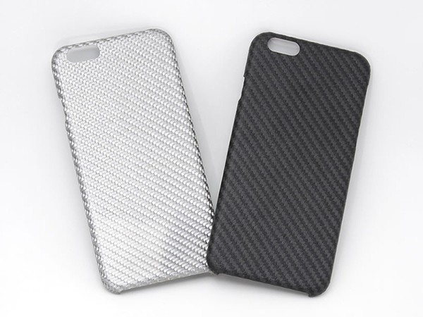 電波を遮らない強化繊維素材のiPhone 6/6 Plusケース「HoverKoat」