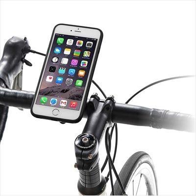 自転車に着脱できるiPhone6/6Plusホルダー ナビやサイクルコンピュータとして