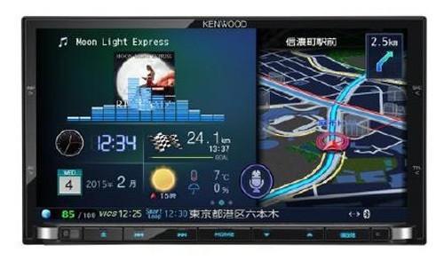 ケンウッド「彩速ナビ」にハイレゾ音源対応機種 車内でマスター音源に迫る音質