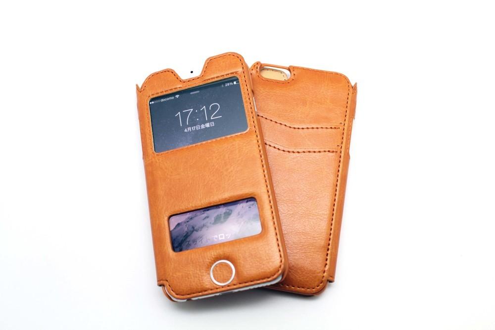 ケースを閉じたままで電話応対ができる 便利なiPhone6用ケース「SUGU-TORU」発売