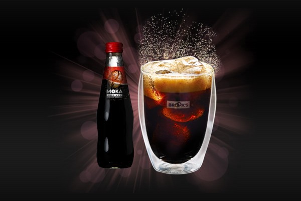 「モカ インスティンクト」 5種類のコーヒーをブレンドした炭酸エスプレッソ