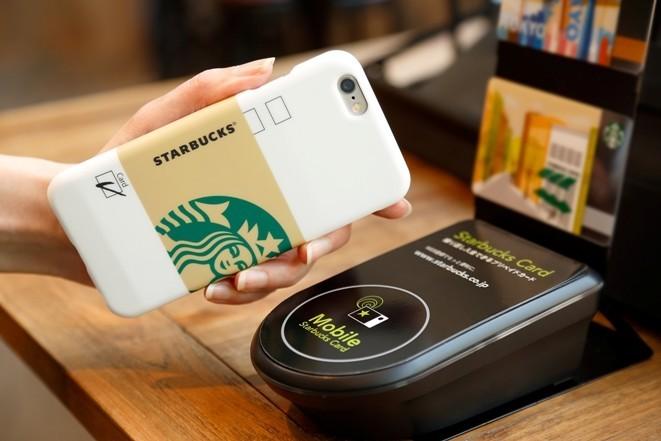 スタバ、かざして支払うiPhone 6ケース「STARBUCKS TOUCH」