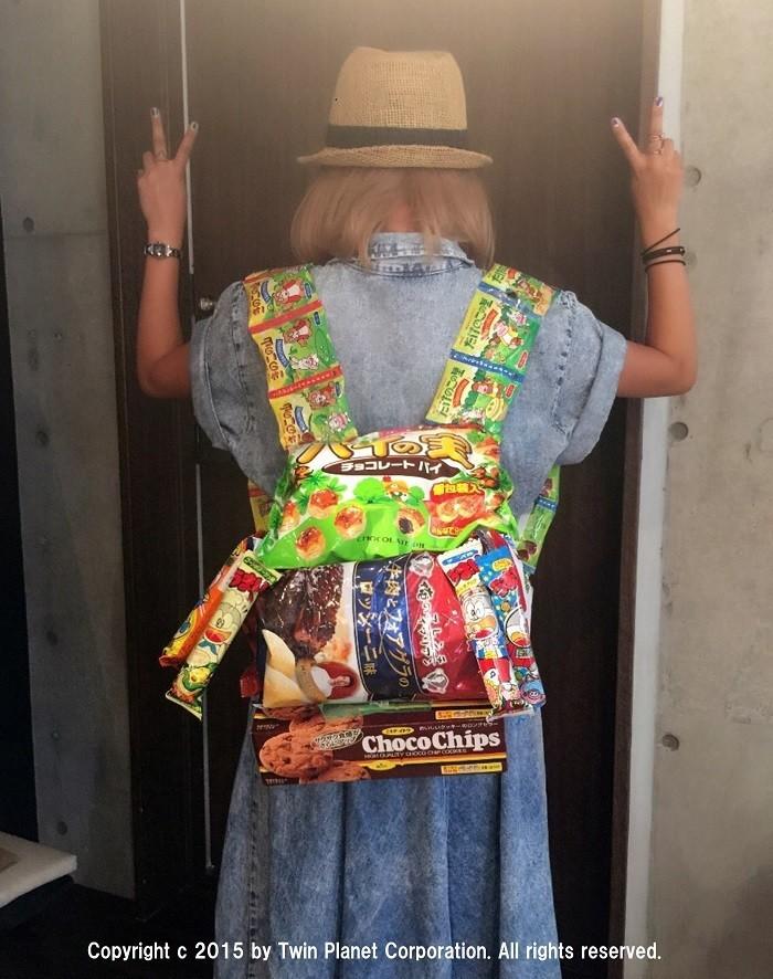 ギャルの手作りプレゼント新アイテム「お菓子リュック」