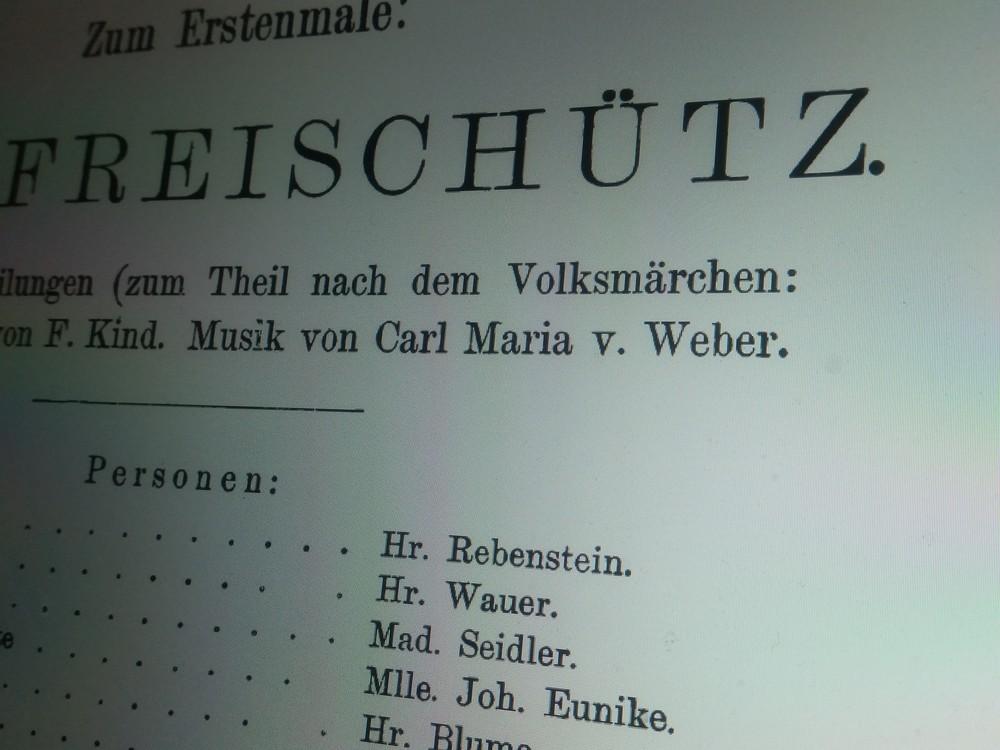ドイツオペラを確立させた「魔弾」