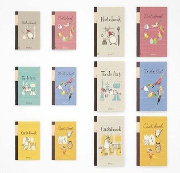 デザインフィル、ユーザーの声から生まれたミニノート「手帳用ノート」を発売