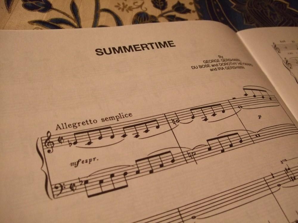 ジャズスタンダード「サマータイム」...G・ガーシュウィンの本格オペラ「ポーギーとベス」のアリアが