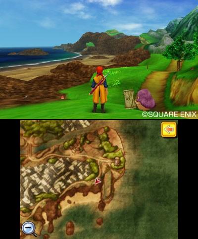 ニンテンドー3DS用RPG「ドラゴンクエストVIII 空と海と大地と呪われし姫君」04年発売PS2版をリメイク
