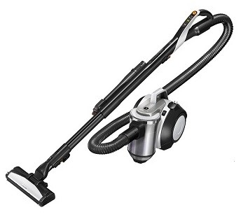 きれいな排気でごみを吹き飛ばす 「エアブロー機能」搭載のサイクロン式掃除機