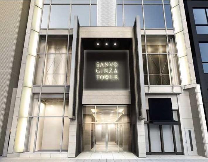「三陽銀座タワー」19日グランドオープン 「バーバリービル」を改装