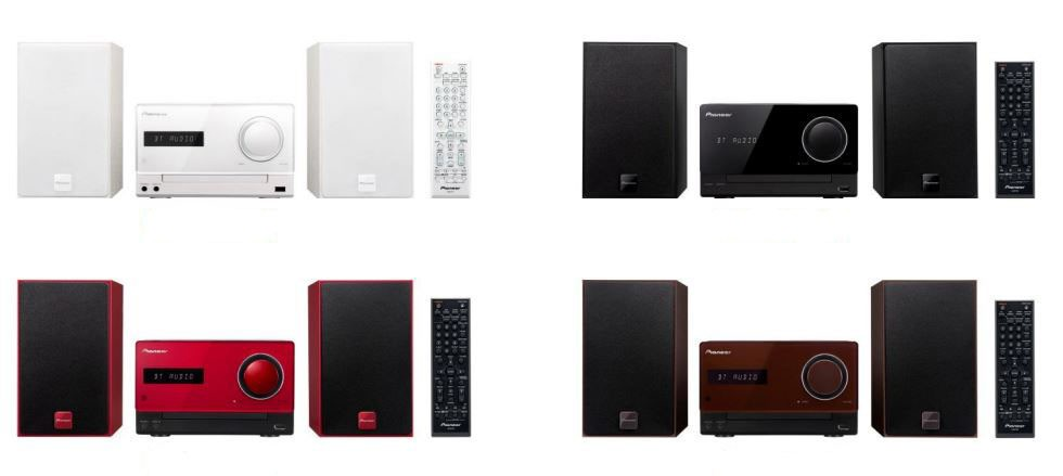 NFC対応Bluetooth搭載、スマホやPCと接続してワイヤレス再生 パイオニアからCDミニコンポ