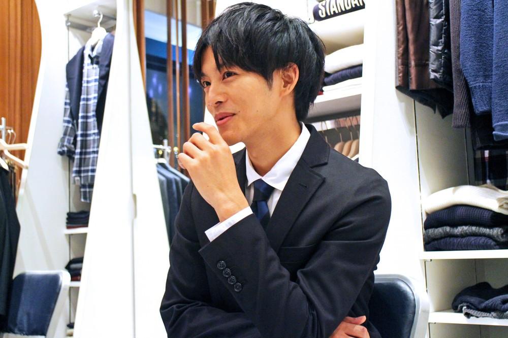 「着まわし」という言葉に反応する松坂さん