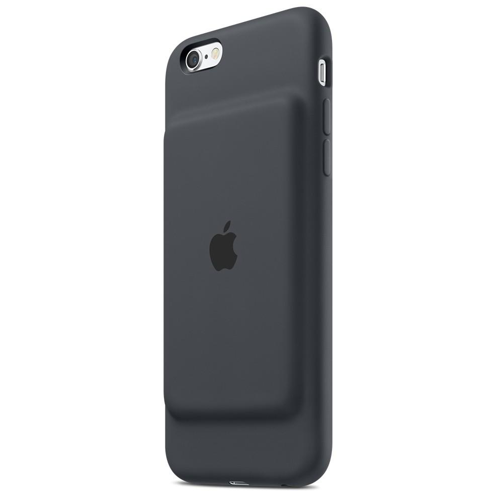 アップルからバッテリー内蔵、駆動時間を延ばしながら保護するiPhone 6s/6ケース「Smart Battery Case」