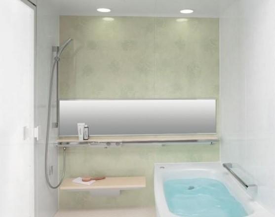 「清潔感」を進化 お手入れしやすいマンションのリモデルバスルーム