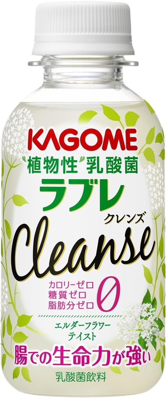 カゴメから、爽やかな甘い香りのハーブを使用した乳酸菌飲料