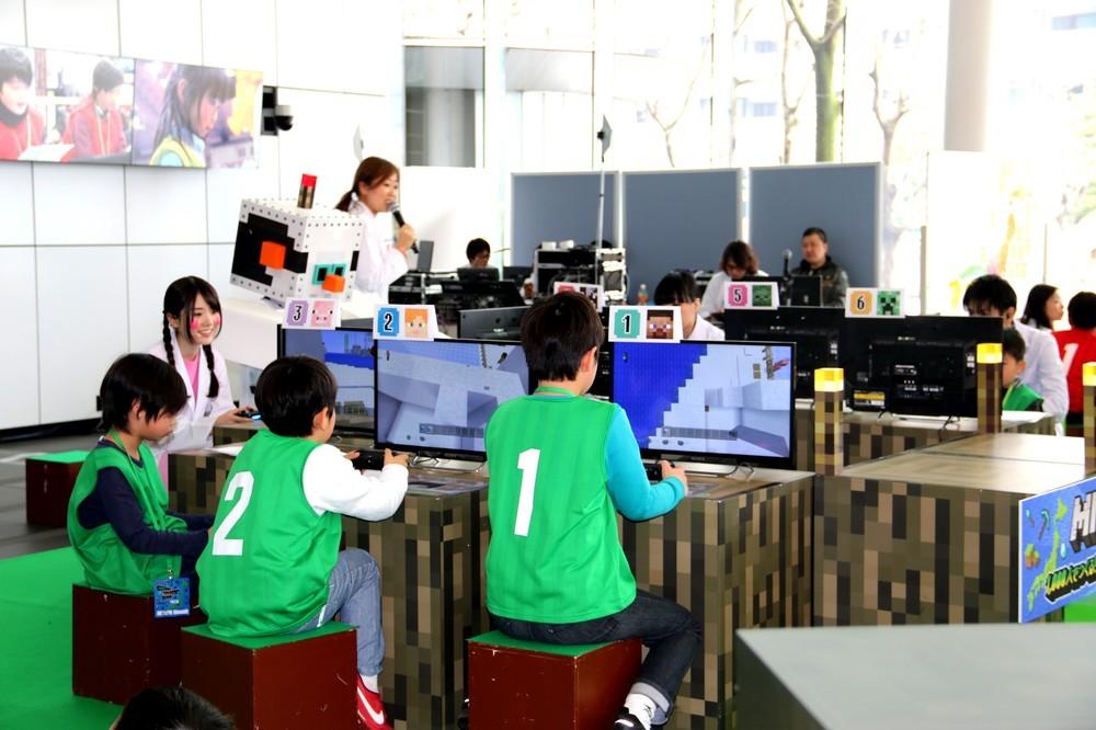 「マインクラフト」1000人プレイで小学生が大熱狂 「夢の日本」プロジェクトついに完成