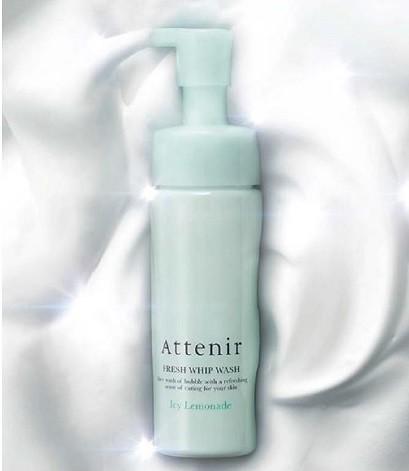 アテニア、夏のダメージ肌を濃密泡でやさしくケア「フレッシュホイップウォッシュ<アイシーレモネードの香り>」発売