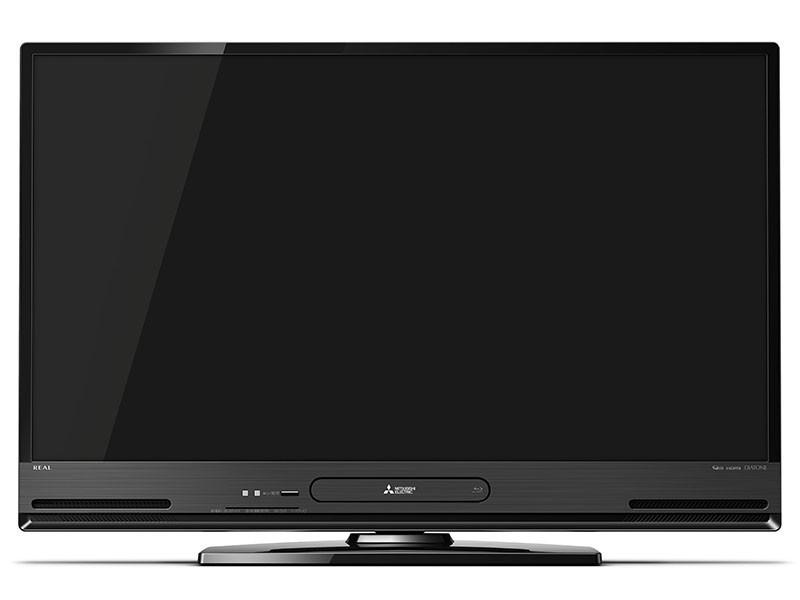 BD/HDDレコーダー内蔵の40型液晶テレビ、三菱「REAL」 裏2番組同時録画など対応
