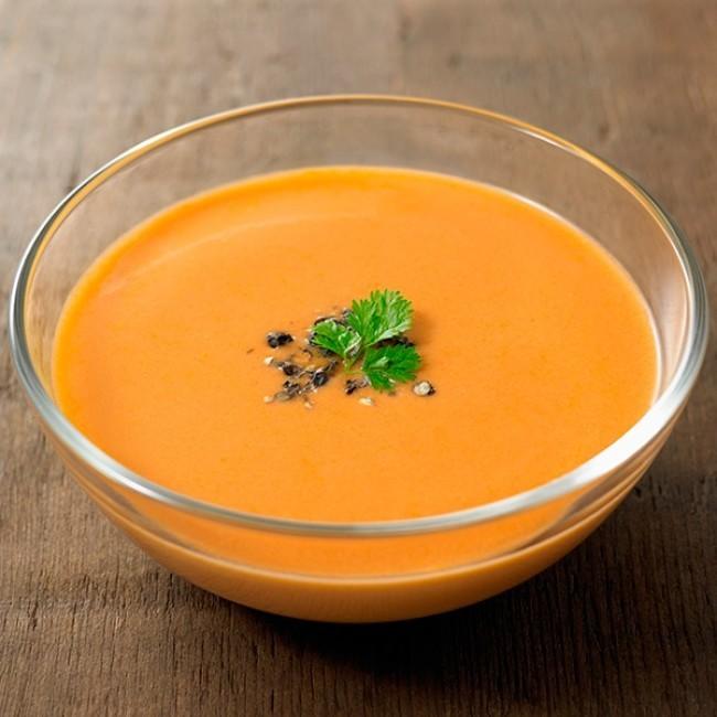 無印の夏にうれしい冷製スープ3種類 蟹のうまみと香味野菜の風味際立つ