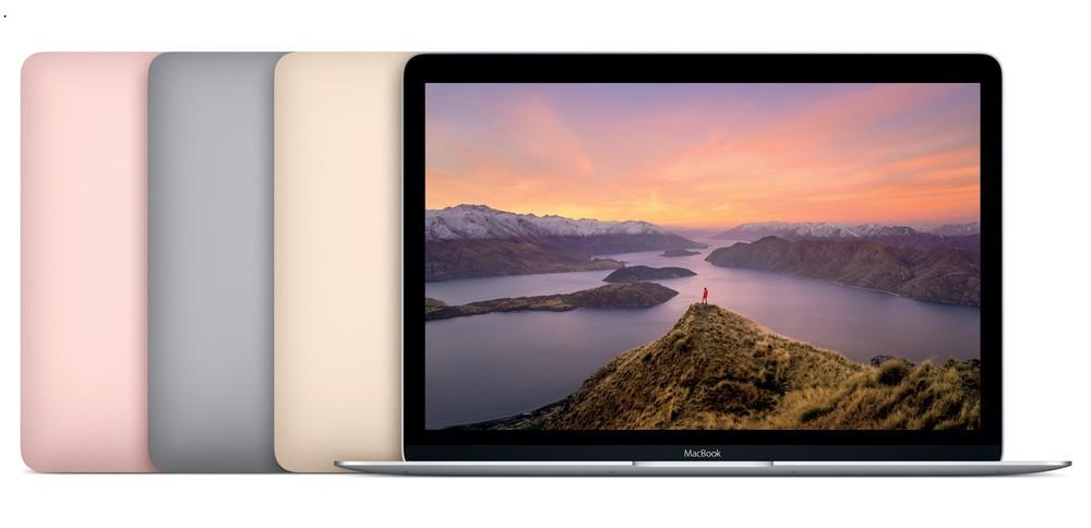 史上最薄・最軽量「MacBook」 新色「ローズゴールド」登場