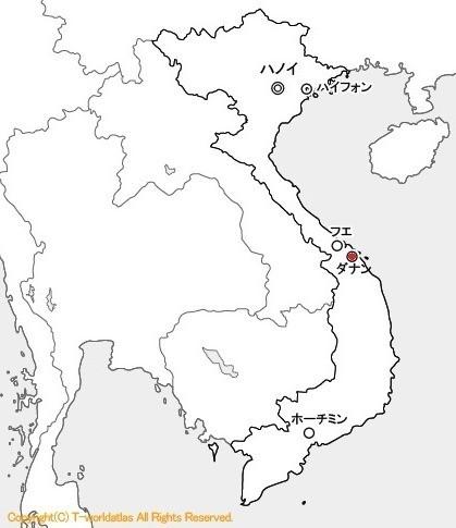 ダナンはベトナム中部に位置する港湾都市
