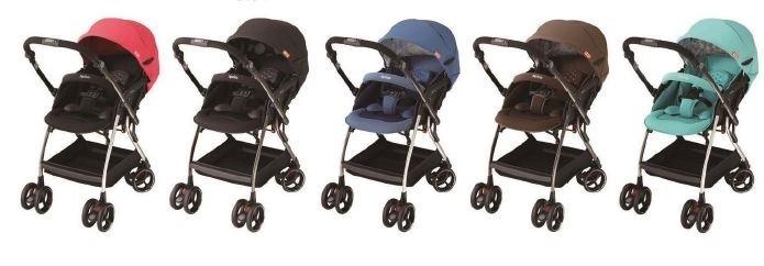 あらゆる振動から赤ちゃんを守る オート4輪ベビーカー、アップリカ「オプティア」