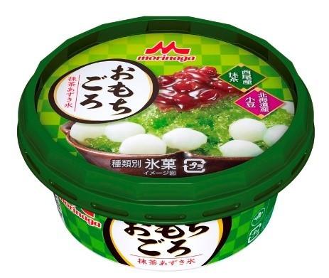 もちもち食感が楽しいかき氷...森永乳業「おもちごろ 抹茶あずき氷」期間限定で発売