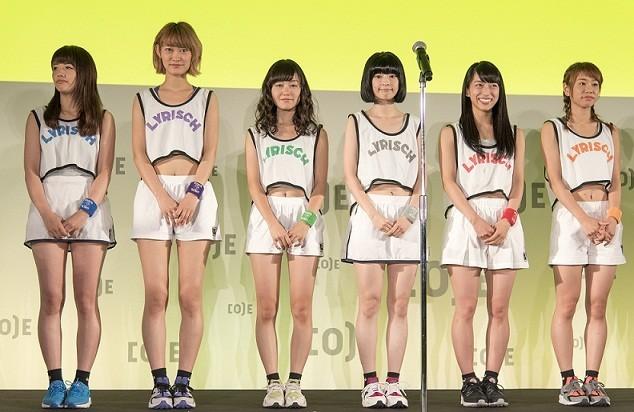 6人組のヒップホップアイドルユニット「Lyrical School」も会場に
