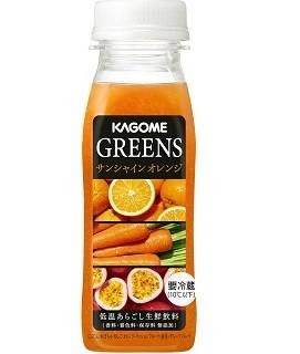 パッションフルーツとオレンジが香る新野菜飲料 カゴメから