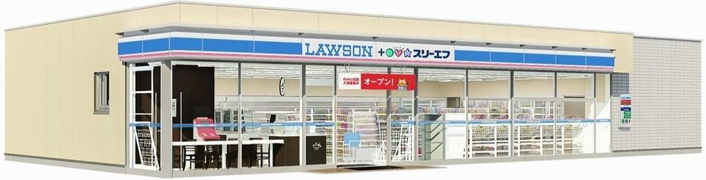 「ローソン・スリーエフ」が関東でオープン 3カ月で90店に