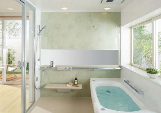 戸建て向けにも自動「おそうじ浴槽」