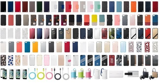 「ソフトバンクセレクション」からiPhone7/7 Plus向けのアクセサリー登場 用途に合わせた多様なラインナップ