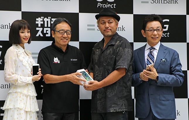 ソフトバンク「iPhone7」イベントに現れた古館伊知郎 広瀬すずの前で変わらぬ古館節を披露