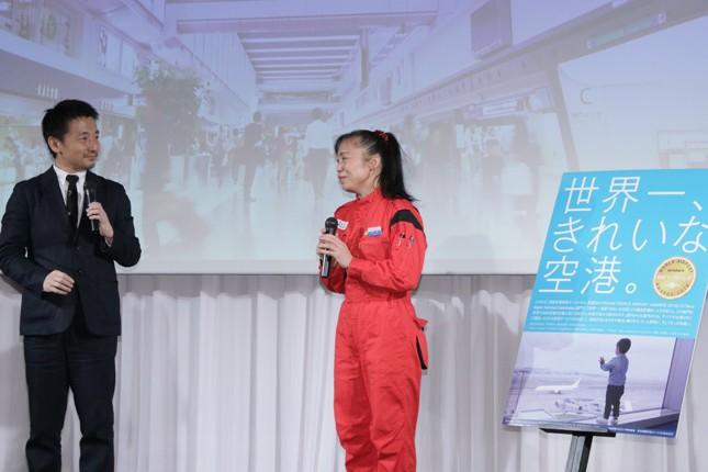 (写真左から)伊藤総研さん、新津春子さん