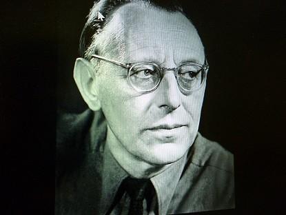 作曲者オルフの肖像