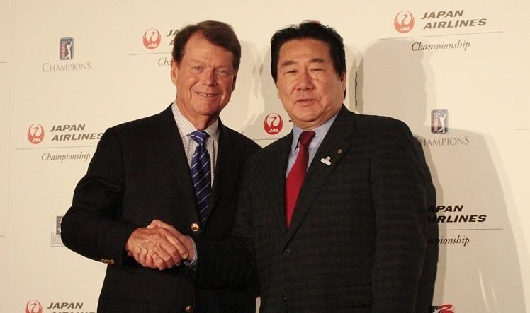 PGAツアー・チャンピオンズ17年に日本で初開催 成田ゴルフ倶楽部で「JAL選手権」