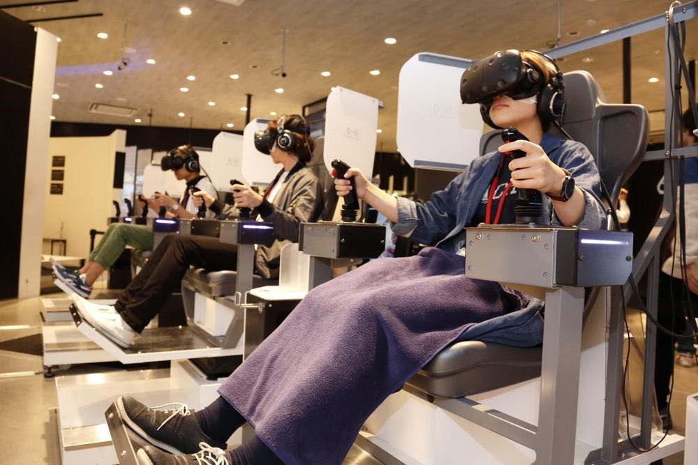 のべ3万7千人が最新のVR技術を体験