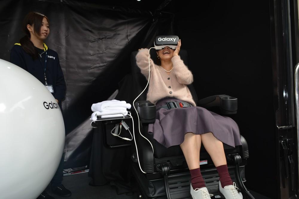 中澤裕子が大興奮した「Galaxy 常識を超える体験イベント」開催! 話題のVRアトラクションあり